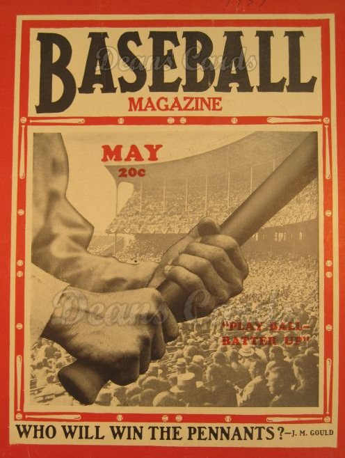 1937 Baseball Magazine    May
