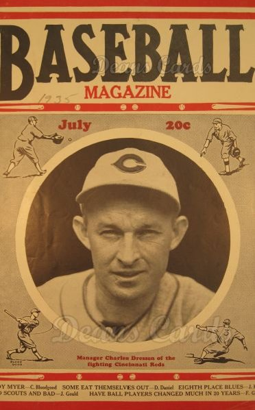 1935 Baseball Magazine    July