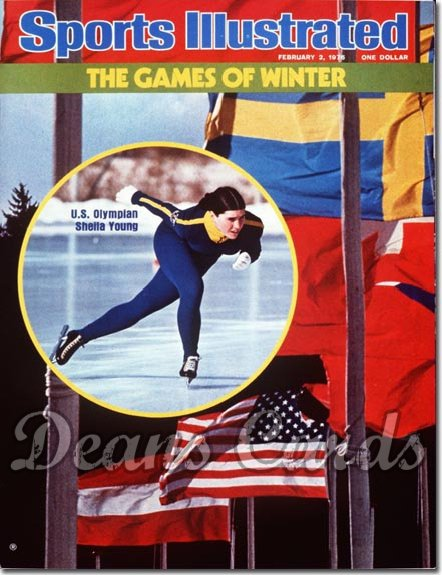 1976 Sports Illustrated   February 2  -  Shelia Young (Winter Olympic Preview)