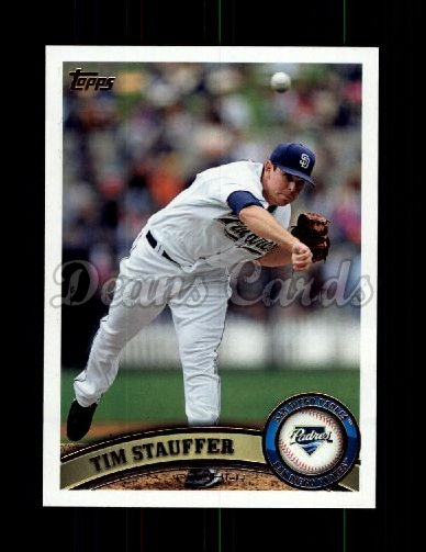 2011 Topps Update #25  Tim Stauffer