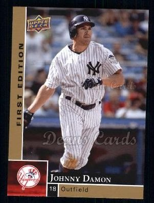 2009 Upper Deck First Edition #205  Johnny Damon