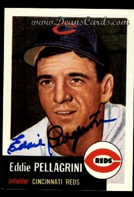 1991 Topps 1953 Archives #28  Eddie Pellagrini