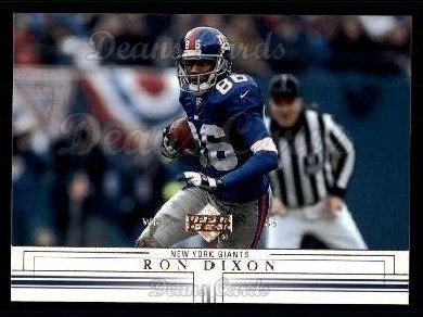 2001 Upper Deck #110  Ron Dixon