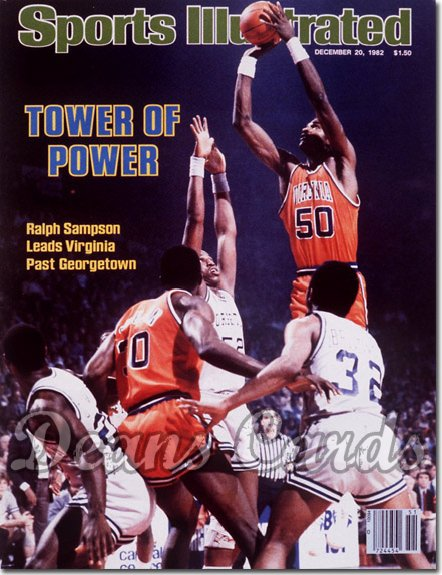 1982 Sports Illustrated - With Label   December 20  -  Ralph Sampson (Virginia Cavaliers)