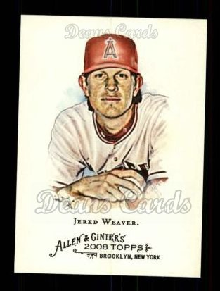 2008 Topps Allen & Ginter #234  Jered Weaver