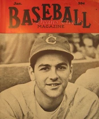 1942 Baseball Magazine    January
