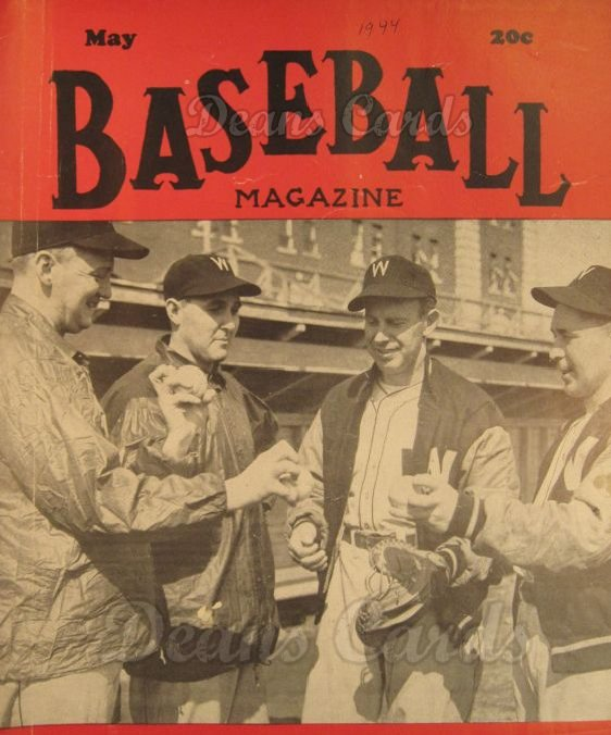 1944 Baseball Magazine    May