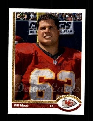 1991 Upper Deck #592  Bill Maas