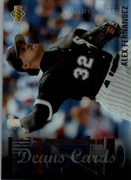 1994 Upper Deck #43   -  Alex Fernandez The Future is Now