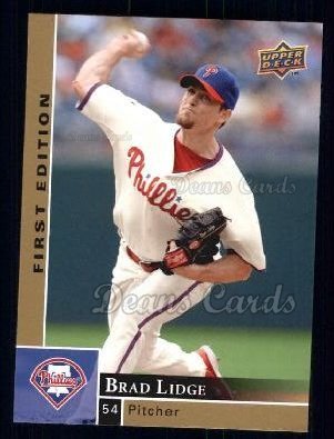 2009 Upper Deck First Edition #232  Brad Lidge