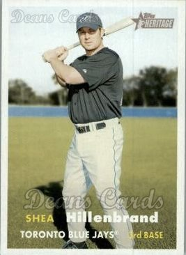 2006 Topps Heritage #38  Shea Hillenbrand