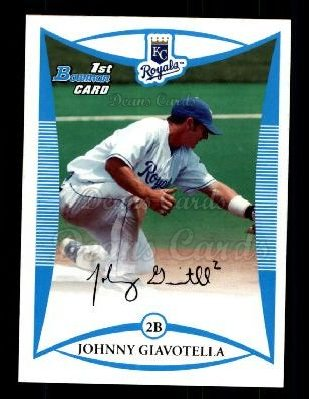 2008 Bowman Draft Prospect #47 BDPP Johnny Giavotella