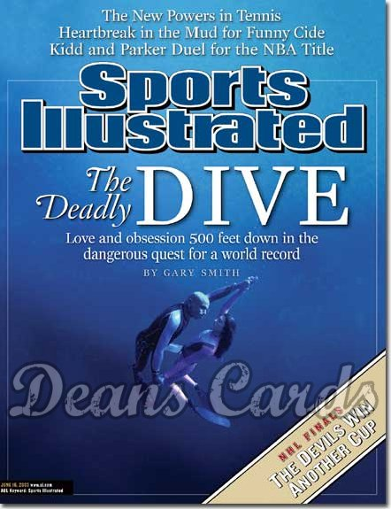 2003 Sports Illustrated   June 16  -  Pipin Ferreras Audrey Mestre (Deep Sea Diving)