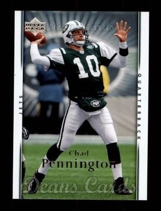2007 Upper Deck #132  Chad Pennington