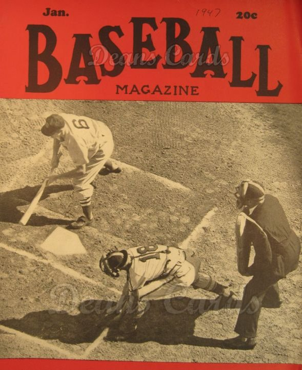 1947 Baseball Magazine    January