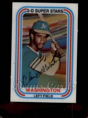 1976 Kelloggs #2  Claudell Washington
