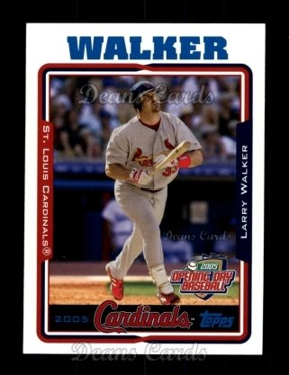 2005 Topps Opening Day #157  Larry Walker