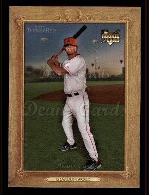 2007 Topps Turkey Red #52  Brandon Wood