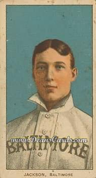 1909 T206 Reprint #231  Jimmy Jackson