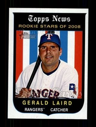 2008 Topps Heritage #571  Gerald Laird