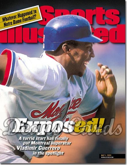 2000 Sports Illustrated   May 1  -  Vladimir Guerrero Montreal Expos