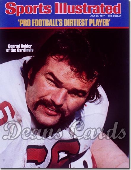 1977 Sports Illustrated - No Label   July 25  -  Conrad Dobler (St. Louis Cardinals)