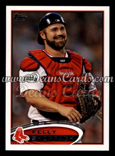 2012 Topps Update #310  Kelly Shoppach