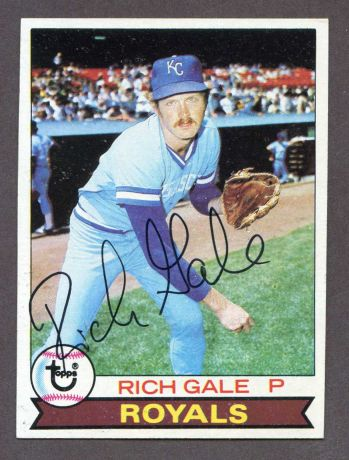 # 298 Rich Gale - 1979 Topps