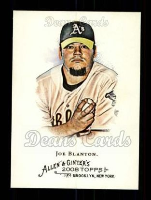 2008 Topps Allen & Ginter #229  Joe Blanton