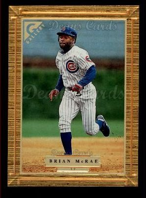 1997 Topps Gallery #77  Brian McRae