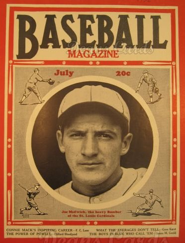 1936 Baseball Magazine    July