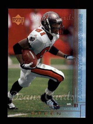 2000 Upper Deck #202  Jacquez Green