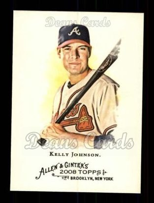 2008 Topps Allen & Ginter #188  Kelly Johnson