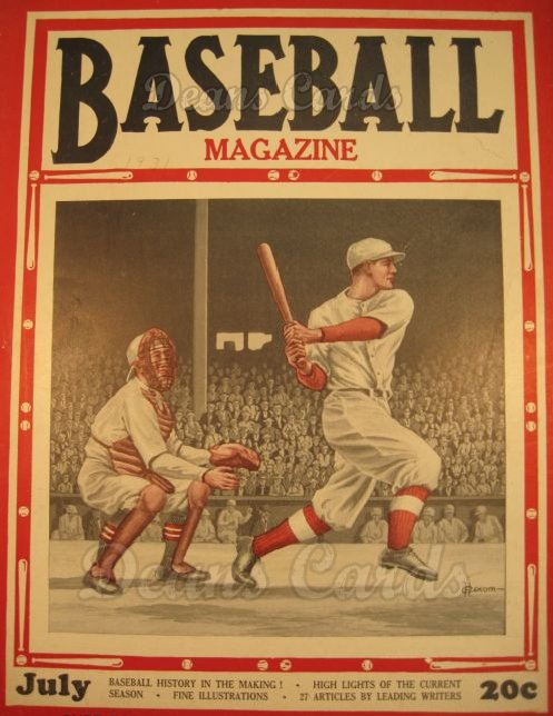 1931 Baseball Magazine    July