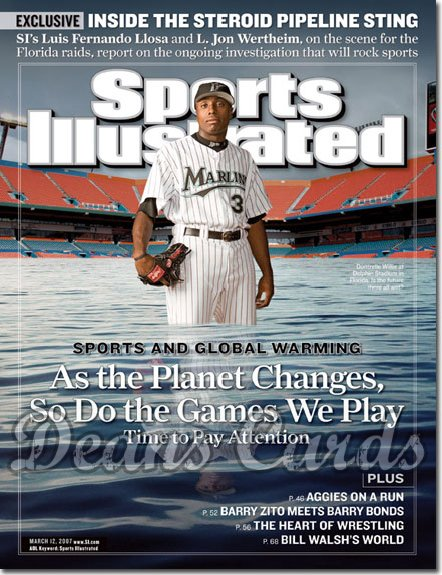 2007 Sports Illustrated   March 12  -  Dontrell Willis Marlins