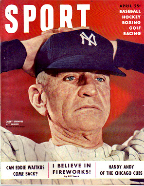 1950 Sport Magazine   -  Casey Stengel  April