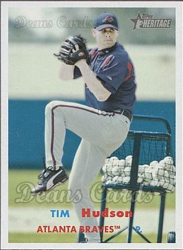 2006 Topps Heritage #80 A Tim Hudson