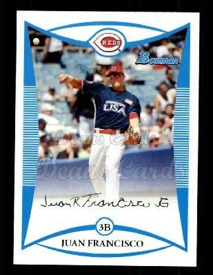 2008 Bowman Draft Prospect #93  Juan Francisco