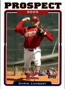 2005 Topps Update #90  Chris Lambert