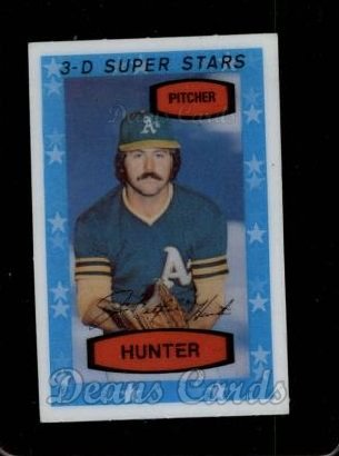 1975 Kelloggs #44 NYY Catfish Hunter