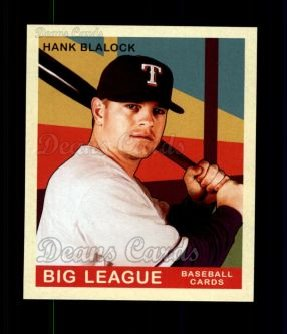 2007 Upper Deck Goudey Red Backs #45  Hank Blalock