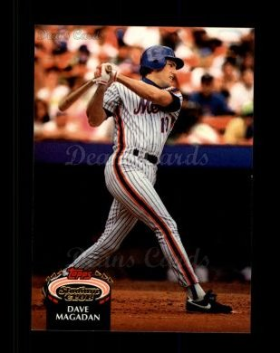 1992 Topps Stadium Club #118  Dave Magadan