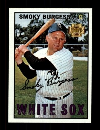 2001 Topps Archives #343   -  Smoky Burgess 67 Topps