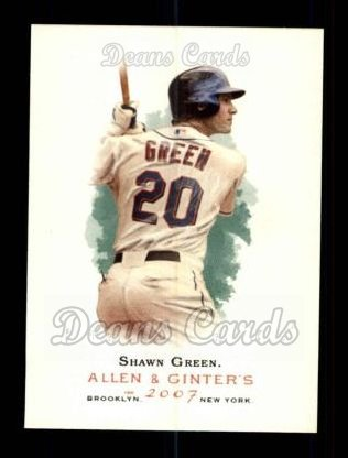 2007 Topps Allen & Ginter #99  Shawn Green