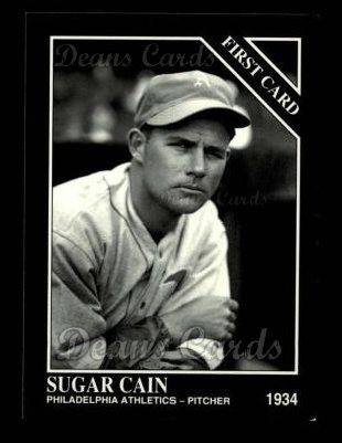 1993 Conlon #952   -  Merritt Sugar Cain First Cards