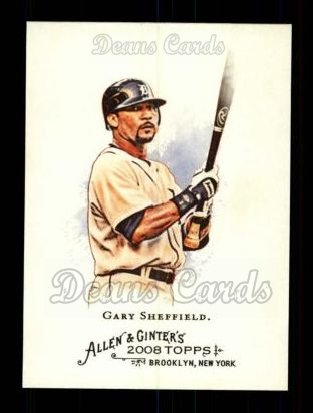 2008 Topps Allen & Ginter #269  Gary Sheffield