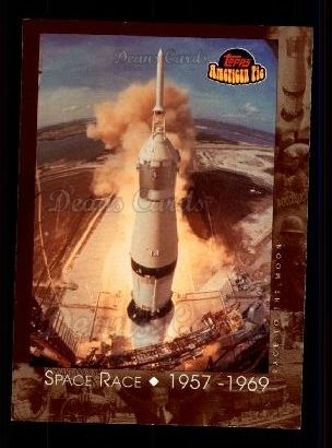 2001 Topps American Pie #126   Space Race