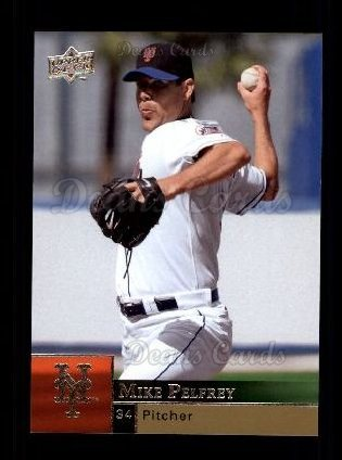 2009 Upper Deck #256  Mike Pelfrey