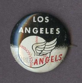 1961 Cranes Potato Chip Pin #10   Los Angeles Angels