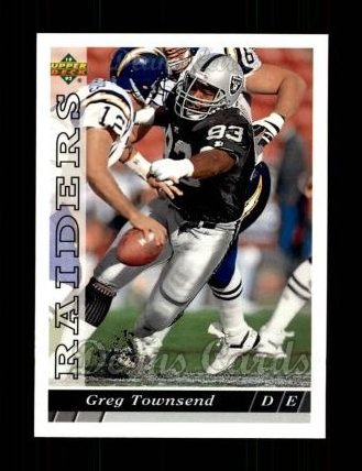 1993 Upper Deck #171  Greg Townsend